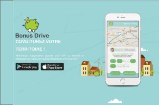 Page d'accueil du site Bonus Drive