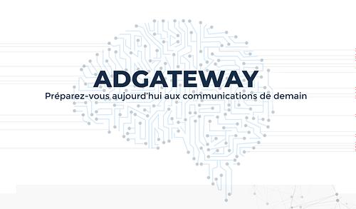 Pa d'accueil du site ADGateway