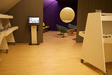 Niemeyer, espace CD