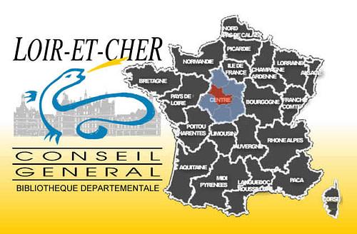 carte Loir-et-Cher
