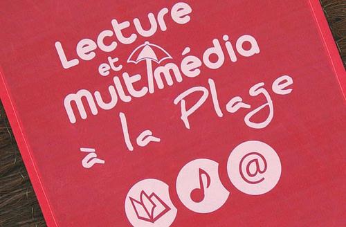 Vendée - lecture et multimédia à la Plage