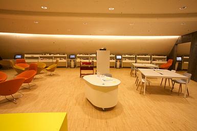 Bornes - espace musique - Niemeyer, le Havre